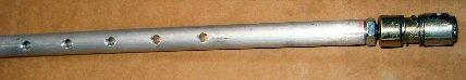 Linear flute tube