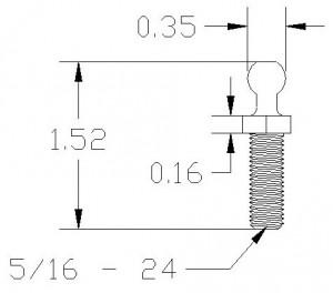 Linear Ball Studs #2